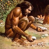 uomo primitivo
